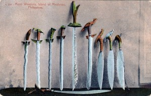 dp - moro weapons, island of mindanao