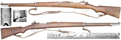 Spanish Mauser Model 1893 Bolt Action Rifle – Researched and
