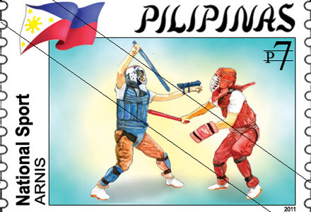 Arnis On Philippine Stamps