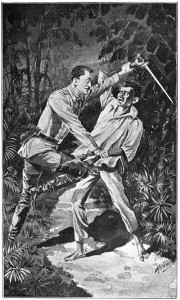 An illustration by J. Alexander Mackay published in the book Bamboo Tales by Ira L. Reeves (1900) IMAGE FROM PROJECT GUTENBERG