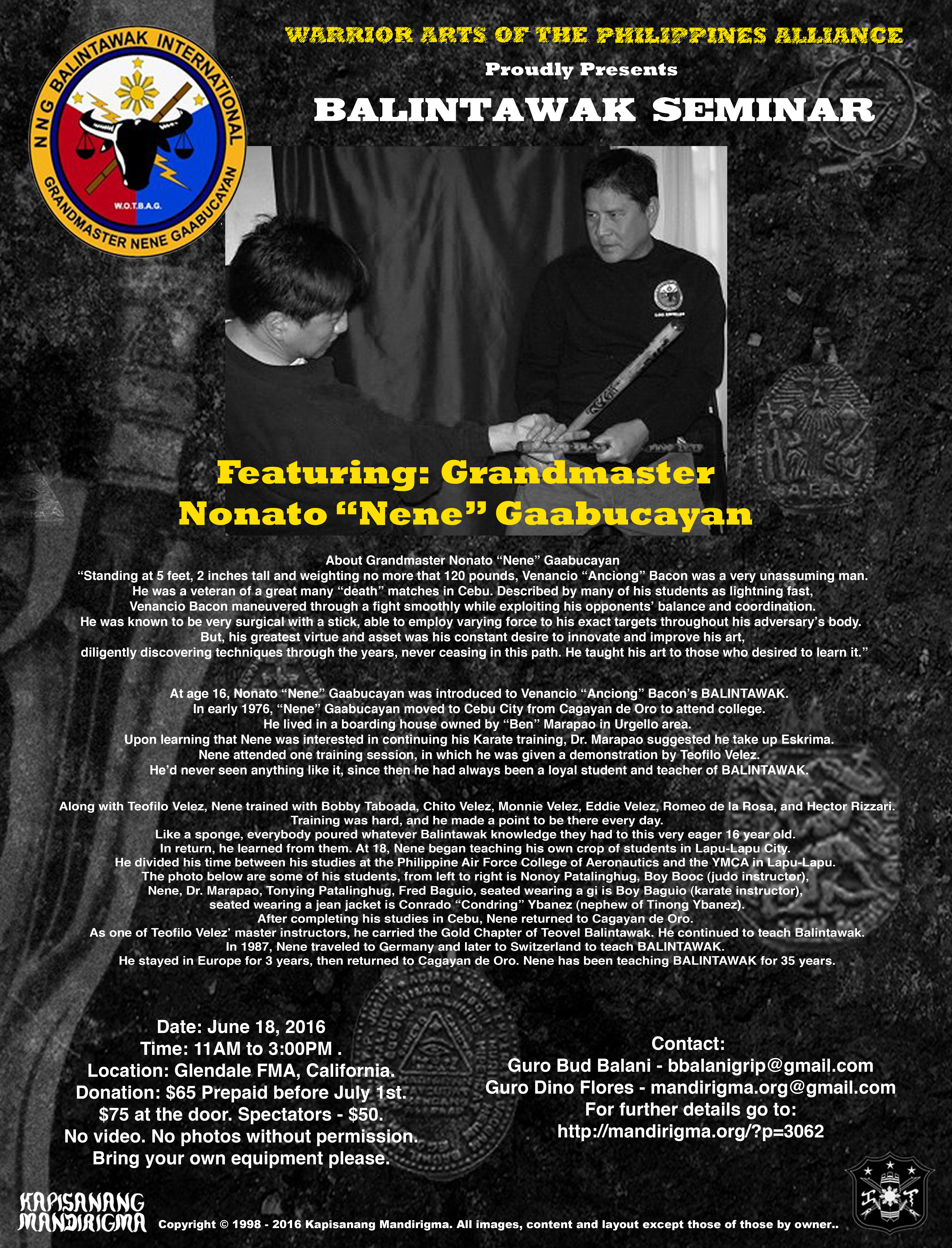 Nene Seminar 2016 Final 1