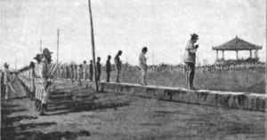 Execution on the Luneta of Filipino rebels ca 1896-97