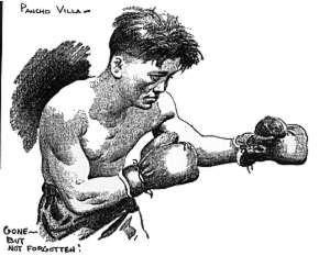 Pancho Villa by Ed Hughes1925 filipino boxing Pancho Villa by Ed Hughes1925 filipino boxing